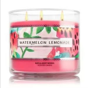 NEW BBW Watermelon Lemonade 3Wick Scented Candle